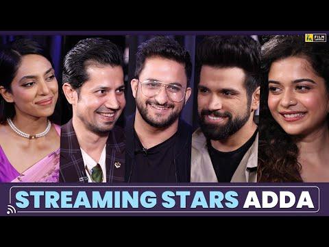The Streaming Stars Adda | Anupama Chopra | Film Companion