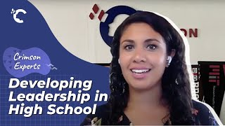 youtube video thumbnail - Developing Leadership in High School with Anjali Bhatia | Crimson Experts Interview Series Ep. 1