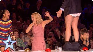Preview: David loses his trousers during Sue Moretta