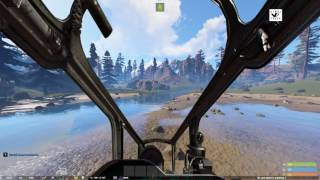 VinylFresh - RUST - Admin CAN FLY THE ATTACK CHOPPER mod test - holy crap!