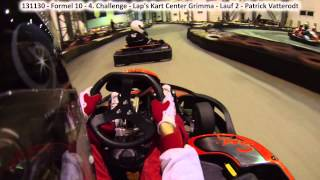 preview picture of video '131130 | Formel 10 | 4. Challenge | Lap's Kart Center Grimma | Lauf 2 | GoPro Hero 3'