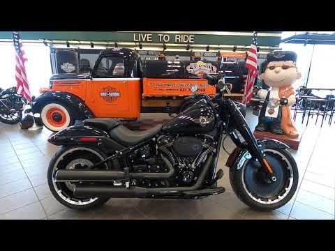 2020 Harley-Davidson Fat Boy 30th anniversary FLFBS
