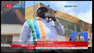 Raila Odinga, NASA luminaries receive warm reception in Meru County