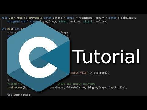 Programmieren in C Tutorial #00 - Einführung & Codeblocks