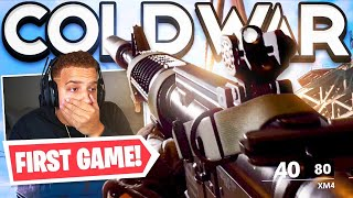 MY FIRST GAME in Black Ops Cold War Multiplayer Gameplay