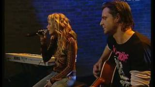 Sylver - Love Is An Angel Acoustic Version Live at Interaktiv 2004 HQ