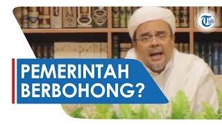 Habib Rizieq Shihab Sebut Pemerintah Indonesia Bohong jika Dirinya Tak Dicekal