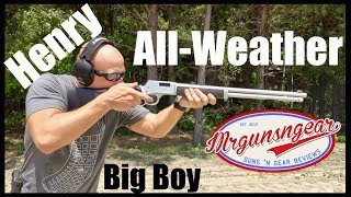Henry Big Boy All-Weather 357 Magnum Lever Action Rifle Review