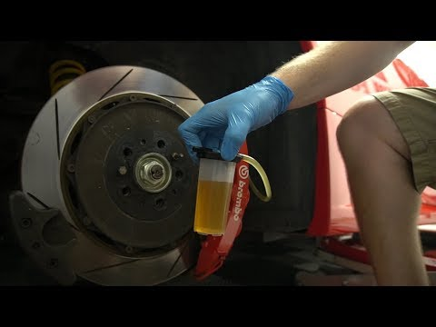 How To Change Brake Fluid >> How To Change The Oil And Brake Fluid On A Ferrari 360 Drunk