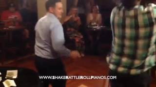 Shake RATTLE & ROLL Dueling Pianos Video of the Week - Chippendale Dance Off!