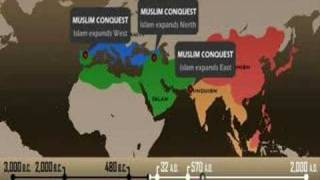 Religion - Spread of Religions Timeline