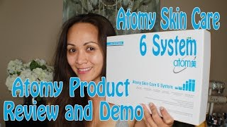 Atomy Skin Care 6 System Review and Demo | Arrem
