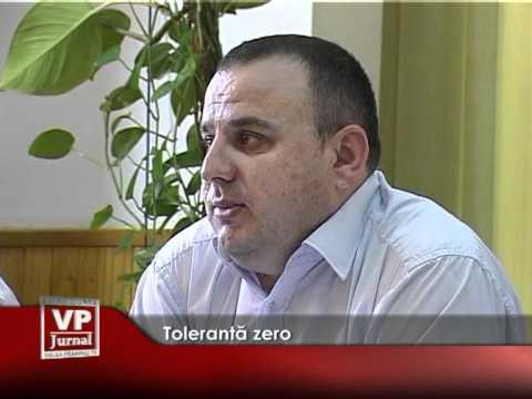 Toleranţă zero