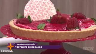 Aprenda a fazer uma tortelete de morango deliciosa