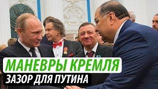 Маневры Кремля. Зазор для Путина
