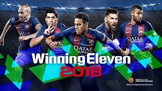 Winning Eleven 2018 PSX PSP