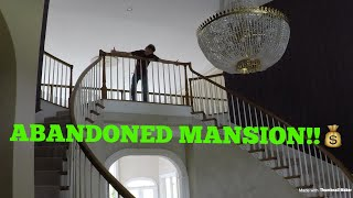 ABANDONED MILLION DOLLAR MANSION!!! (LEFT TO DIE)