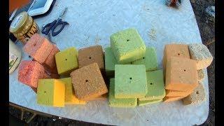 Как ловить карпа на жмых кубики