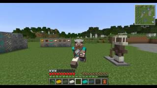 Minecraft:обзор модов #1(вещи из skyrim)(Skyrim MC)
