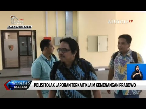 Polisi Tolak Laporan Terkait Klaim Kemenangan Prabowo Subianto