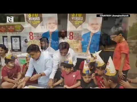 Gujarat bakery celebrates Modi's b'day by giving health kits to 17,000 children