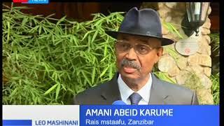 Rais wa zamani wa Zanzibar aelezea kuwa  matumaini ya kutafuta amani itafika kikomo