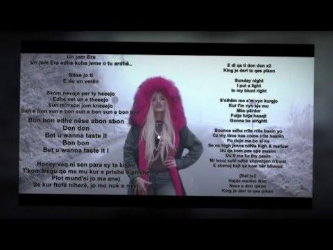 Era Istrefi Bonbon lyrics 2016