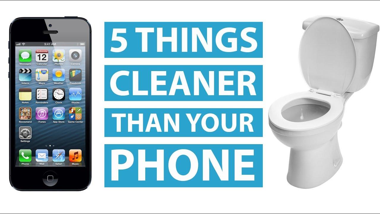 Как правильно чистить свой смартфон?