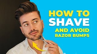 How To Get The BEST SHAVE and AVOID Razor Bumps | Alex Costa