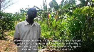 preview picture of video 'Making compost manure'