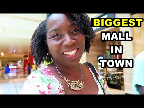 We Went to the BIGGEST MALL in Town | The Galleria, Houston | DNVlogsLife