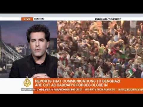 Libyan crisis - Al Jazeera interview