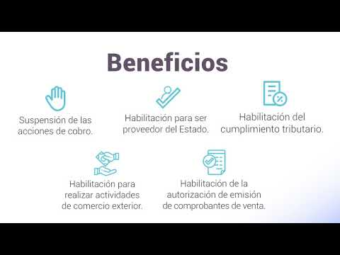 Ver el video Plan de pagos de impuestos retenidos o percibidos