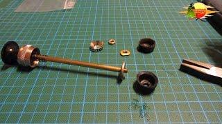 10. Wartung  Pumpenleders und Leder-Spreizer Einbau - Maintenance pump leather and leather spreader