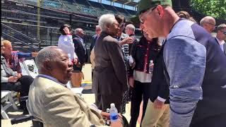 Frank Robinson Statue Unveiled At Progressive Field