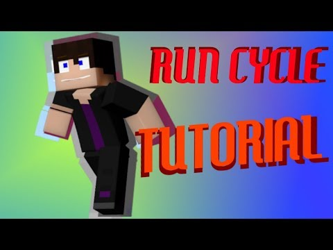 RUN CYCLE TUTORIAL - MINECRAFT