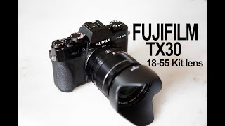 Unboxing FujiFilm XT30 with 18-55mm lens
