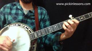 Cold Frosty Morning: 3-Finger Melodic Banjo