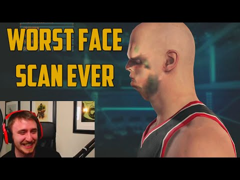 NBA 2K15 face scan fail - one of the funniest contagious laughter clips I've seen