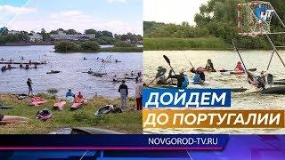Новгородские кануполисты успешно выступили на домашних всероссийских стартах