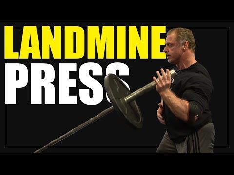 Exercise Index - Landmine Shoulder Press