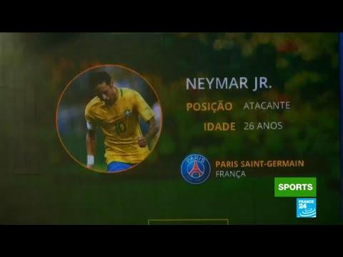 Football: Brazil's coach Tite announces World Cup 2018 team