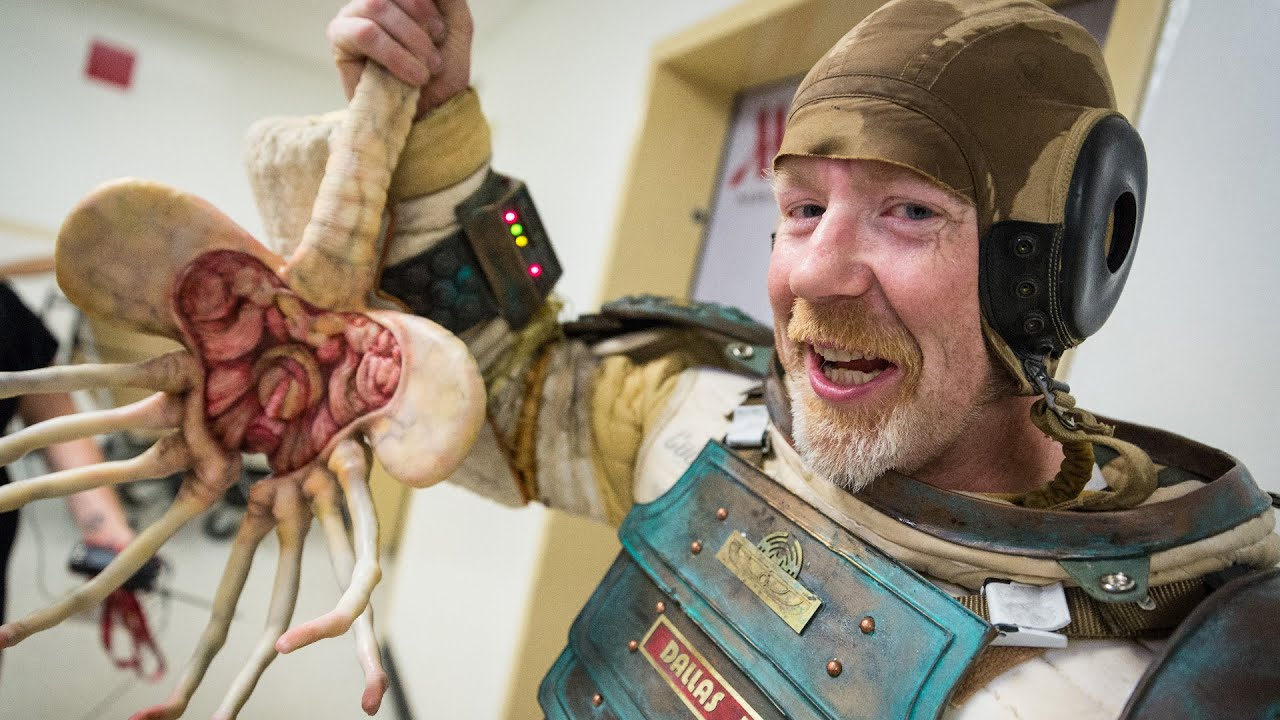 Flawless Replica Space Suit From Alien Took Adam Savage 10 Years To Make