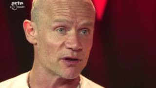 Flea from Red Hot Chili Peppers talks about Donald Trump, the importance of education & more...