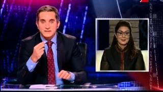 برنامج البرنامج - الحلقة التاسعة - الجزء الثاني - باسم يوسف وهجوم علي قطر والاخوان والاعلاميين