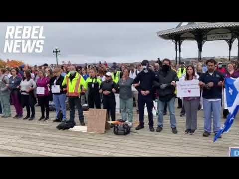 Anti-Vaxx mandate protests in Quebec