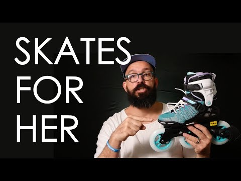 INLINE SKATES FOR WOMEN – POWERSLIDE PHUZION WRAPTOR 3x110MM REVIEW // VLOG 126