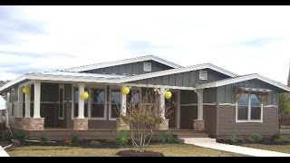 Lalinda triplewide built in porch Mobile & Modular Homes Video For Sale in Texas