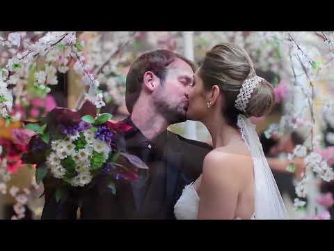 Casamento na Igreja São João Batista / Leila e Julian - Clube Social de Capivari - SP