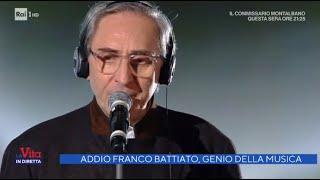 Addio Franco Battiato, genio della musica - La Vita in Diretta 18/05/2021